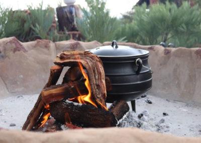 Fireplace Potjie